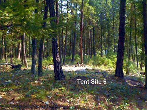 tent site 6